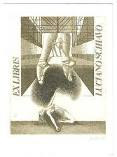 LUCIANO SCHIAVO: Eigen- Exlibris; Balletttänzerin