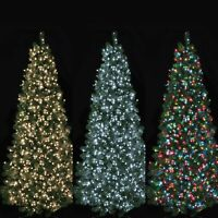 LED Xmas Tree Lights Timer Christmas Festive Decoration Mains 500 750 1000 1500