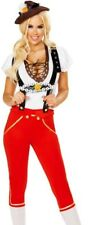 Sexy Oktoberfest Costume Womens Bavarian Beer Maiden Maid - S Small -