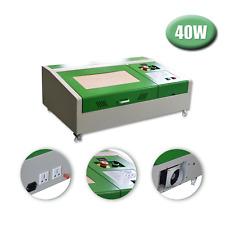 300x200mm 40W CO2 Laser Graveur Fraise Gravure Machine De Découpe Upgraded+4RADS