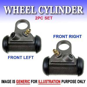 WC Drum Brake Wheel Cylinder Front L&R 2PC Set Fit Ford Mercury Edsel