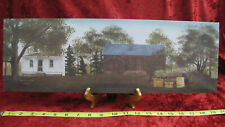 Bucks County Canvas Home Decor Billy Jacobs Barn Farm House Winter Silo NEW