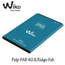 Batterie Origine Wiko Pulp Fab 4G et Ridge-Fab de 2820 mAh