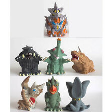 Iwakura Godzilla Vinyl Figure finger puppet set of 7 Gamera Irys Guilala Viras