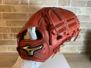 Baseball glove MIZUNO Global Elite RG Picher RED 10in USED IN JAPAN