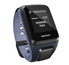 TomTom Runner 2 Cardio & Music -  Sky captain blue/Purple haze - Small