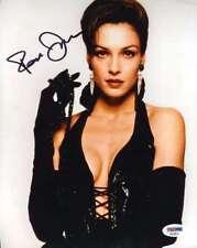 FAMKE JANSSEN PSA DNA Coa Hand Signed 8X10 Photo Autograph Authenticated