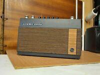 Vintage 60s portable radio Transistor Kofferradio Loewe Opta T45 22345, RARITÄT