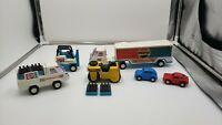 Mixed Lot of Buddy L Vehicles 3 Pepsi Vehicles 2 smaller Cars SFB