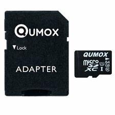 QUMOX 64GB MICRO SD MEMORY CARD CLASS 10 UHS-I 64 GB SPEICHERKARTE WH