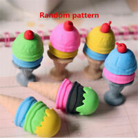 Cute Food Pencil Eraser Novelty Home Decor Students Stationery Children Gift