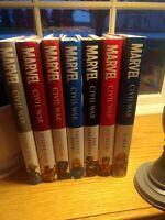 Marvel OOP Cvil War complete hardcover set