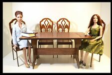 Furniture for Dolls 16-18 inch 1/4 Tonner BJD Cami 4 chairs + Table 400 mm!!!
