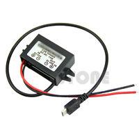 Output  DC-DC Power Adapter Micro USB 8-50V to 5V 12V/24V to 5V Converter Module