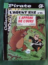 L'AGENT 212 - no 15 - L'appeau de l'ours - Kox & Cauvin - Dupuis 2002