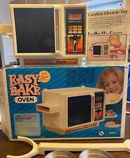 Vintage Kenner Easy Bake Dual Temp Oven W/ Original Box 1988