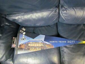 2011 Super Bowl XLV  Pennant Houston