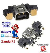 CONNETTORE SOCKET ALIMENTAZIONE PER NINTENDO 3DS 3DSXL AC ADAPTER POWER DC JACK
