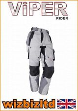 Pantalones textiles para motoristas talla XL