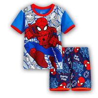 Kids Boys Girls Cartoon Sleepwear Pj's Pyjamas Nightwear Toddler Outfits Clothes