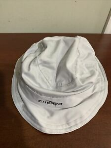 Chervo wani Grey lined sun hat Ladies Medium Hat 55826 NEW NWT