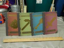 Minecraft Handbooks (LOT of 4) Combat Construction Essential Redstone 2013 Ltd