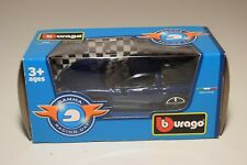 WW 1:43 BBURAGO BURAGO CHEVROLET CORVETTE BLUE GAMMA RACING DAY MIB RARE