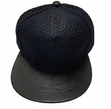 True Heads Navy Blue MMA Cage Rage Snapback Baseball Cap Hat