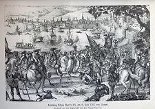 Neapel -Napoli 1707 - Karl III. - Spanischer Erbfolgekrieg - König von Spanien