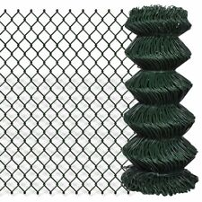 Patio Chain Link Fence Rolled Roll Wire Mesh Garden Outdoor Border Sizes Opt