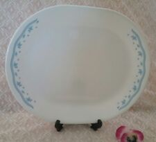 Corelle by Corning oval platter plate 30cm Morning Blue