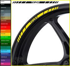 12 x YAMAHA YPVS Wheel Rim Decals Stickers - 20 colours available - RD350 f2 31k