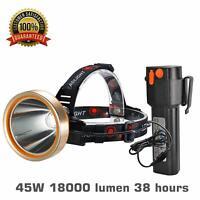 with 1000 Lumen LED NoCry 18W Waterproof Rechargeable Flashlight De Spotlight