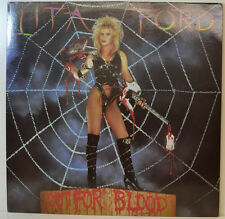 """LITA FORD - OUT FOR BLOOD - MERCURY 810333-1 - 12"""" LP (Y423)"""