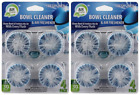 Air Fusion Fresh Linen Bowl Cleaner & Air Freshener, 4 Ct. (Pack of 2)