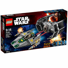 LEGO Star Wars Vader's TIE Advanced vs. A-Wing Starfigh (75150)