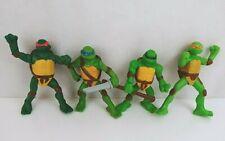 lot of 4 2007 McDonald'S Teenage Mutant Ninja Turtles Tmnt Figure