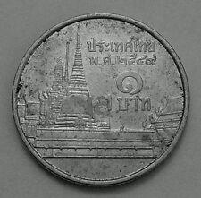 Thailandia 1 BAHT 2006 MONETA DI RAME NICKEL-Phra kaew Temple, BANGKOK-RAMA IX