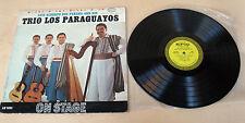 Luis Alberto Del Parana And His Trio Los Paraguayos-On Stage (EPIC LN3594) - LP