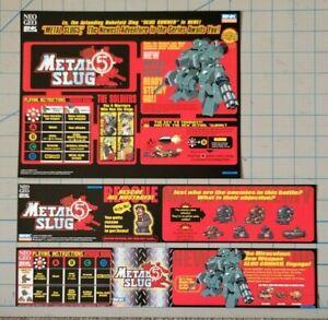 (CARD) Neo Geo SNK Metal Slug 5 for CAPCOM Mini Cute MVS Jamma
