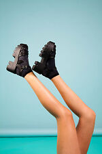 Black Chunky Platfrom Sandals size 37