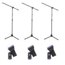Proel RSM180 + APM30 - 3 aste per microfono + 3 pinze APM30