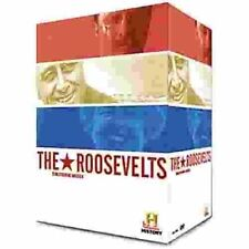 The ROOSEVELTS TRANSFORMING AMERICA  - 6 DVD BOX SET - BRAND NEW - FDR TEDDY