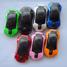 Wireless Car Shaped Gaming Mice Mouse 2.4Ghz USB Optical Mice for Computer UK 1X
