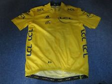 TOUR DE FRANCE 2015 LCS YELLOW LEADERS CYCLING JERSEY [XXL] UNUSED
