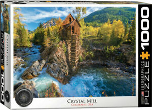 Eurographics Puzzles 1000 Piece Jigsaw Puzzle - Crystal Mill EG60005473