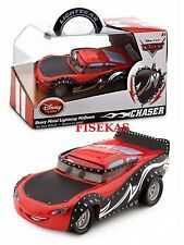 2014 Disney Store Cars Cast Display Box Heavy Metal Lightning McQueen Chase NEW