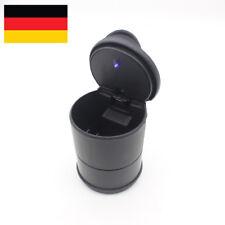 1X Schwarz LED Blau PKW KFZ Beleuchtung Autoaschenbecher Aschenbecher Familien