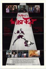 THE LAST FIGHT Movie POSTER 27x40 Willie Colon Rub n Blades Fred Williamson Joe