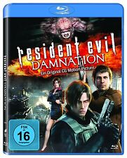 RESIDENT EVIL: DAMNATION (Blu-ray Disc) NEU+OVP